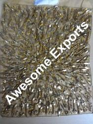 Metal Embroidery Fabric