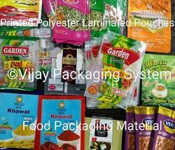 Printed Polyester Pouches For Food Packaging