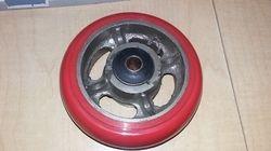 6x2 C.I PU Wheel