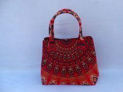 Indian Mandala Tote Bag
