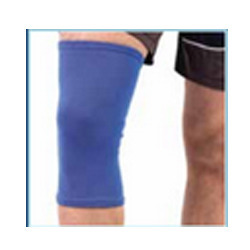 Knee Cap Long Blue Regular