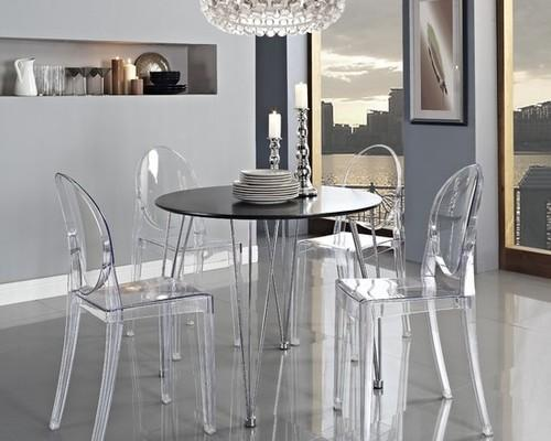 Superieur Classy Acrylic Dining Table Set