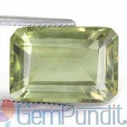 6.49 Carats Green Amethyst