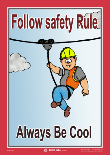 Safety Posters For Construction Industry At Rs 180 Piece