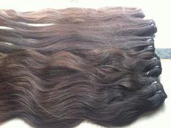 Virgin Wavy Machine Weft Hair
