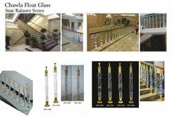 Glass Stair Pillar