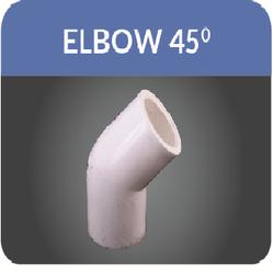 UPVC Elbow 45
