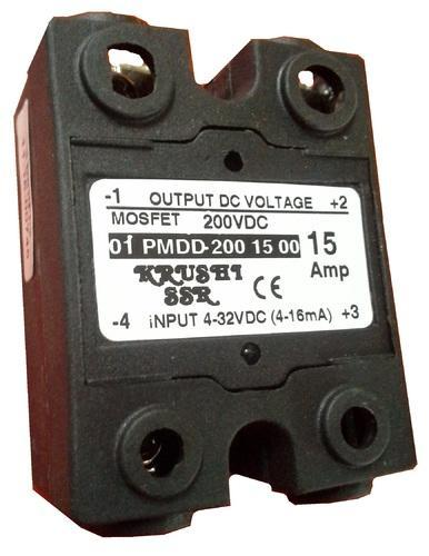 DC To DC Single Phase Solid State Relay DC to DC 15Amp Solid
