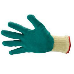 Seamless Cotton Shell with Rubber Coated Premium