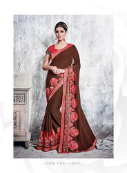 Ethnic Party Wear Saree / Fashion Wear Designer Saree