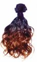 Colourful Wavy Hair Wig