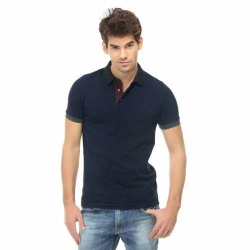 Half Sleeves Collar T-Shirts