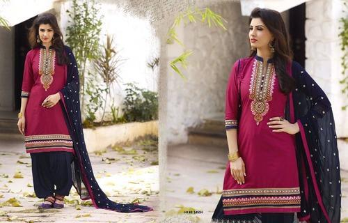 Designer Party Wear Patiala Suit