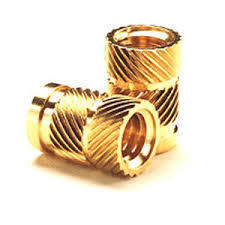 Brass Knurled Expansion Insert