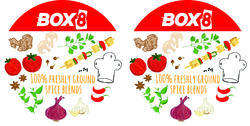 Food Container Label Printing Service