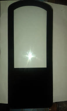 LED Street Light Tempered Glass