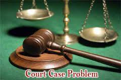 Court Case Problems Solution