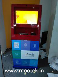Touch Screen Kiosk with A4 Printer