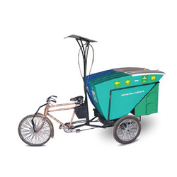 Door To Door Cycle Rickshaws Dustbin