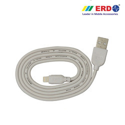White IPH 5 USB Data Cable