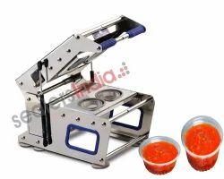 Manual Twin Cup Sealing Machine