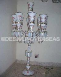Opal Pedestal Lamp