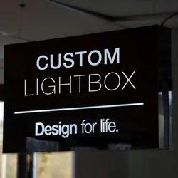 Branded Light Box Displays