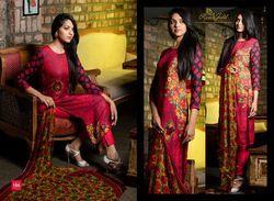 Pasmina Print Salwar Suit