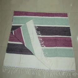 Chenille Stripe Throw