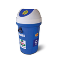 Flap Lids Vertical Waste Bins