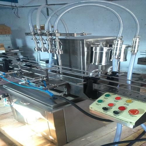 Musturb Oil Filling Machine