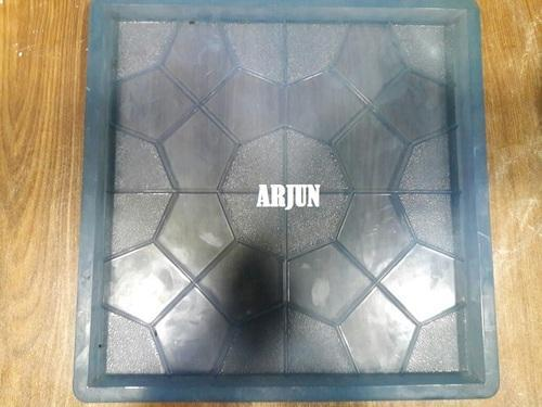 Chequered PVC Tile Mould   Designer Tile Rubberized PVC Mould Manufacturer  From Mumbai