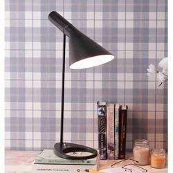 AJ Black Table Lamp