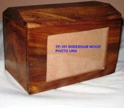 Tp-101 Wood Photo Frame Urn