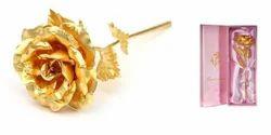 Exclusive Rose In 24 Karat Gold - By Jewel Fuel