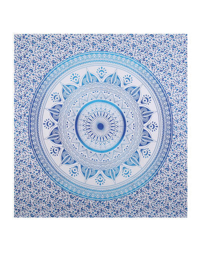 Floral Hippie Mandala Decor Tapestry