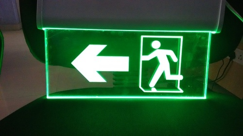 Fire Safety Signage Auto Glow Singage Manufacturer From