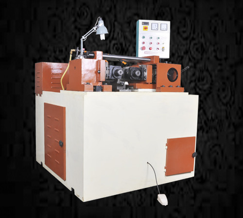 Automatic Hydraulic Bolt Threading Machine