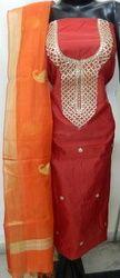 Aaditri Party Wear Chanderi Suit