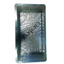 Rubberised  PVC Rectangle Mould - 12 x 6