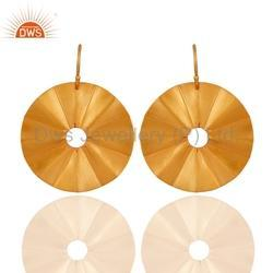 925 Silver Circle Earrings