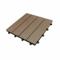 WPC Decking Dark Chocolate - Deck Tiles