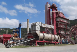 Asphalt Mix Batching Plant