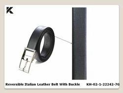 Reversible Italian Leather Belt
