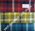Yarn Dyed Twill Slub Check