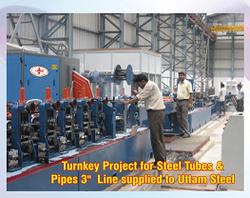 Stainless Steel Pipe Making Machine