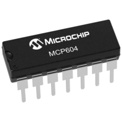 MCP604-I/P Operational Amplifier