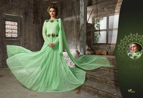 Net Designer Anarkali Gown