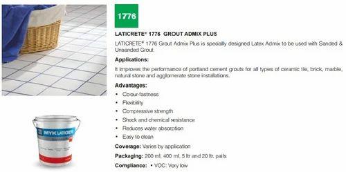 ADMIX 1776 Concrete Admixture