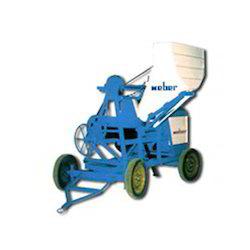 Mobile Concrete Mixer with Hopper
